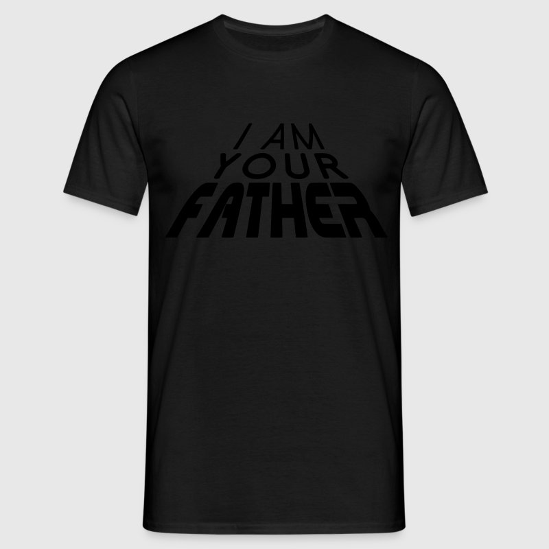 I am your FATHER 3D big (1c) T-shirts - Herre-T-shirt