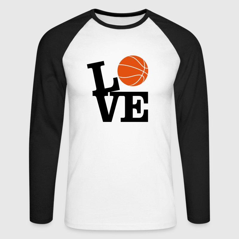 Love Basketball Tee shirts manches longues - T-shirt baseball manches longues Homme