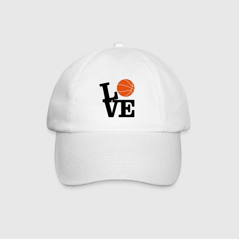 Love Basketball Caps & Hats - Baseball Cap