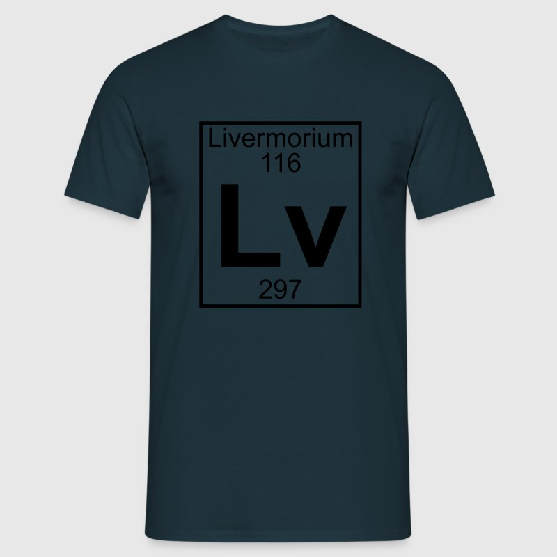 Livermorium (Lv) (element 116) - Men's T-Shirt