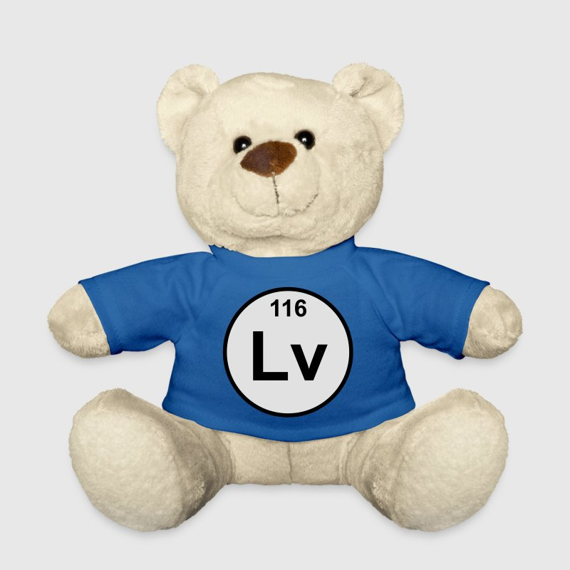 Livermorium (Lv) (element 116) - Teddy Bear