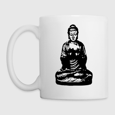 buddha black Bottles & Mugs - Mug