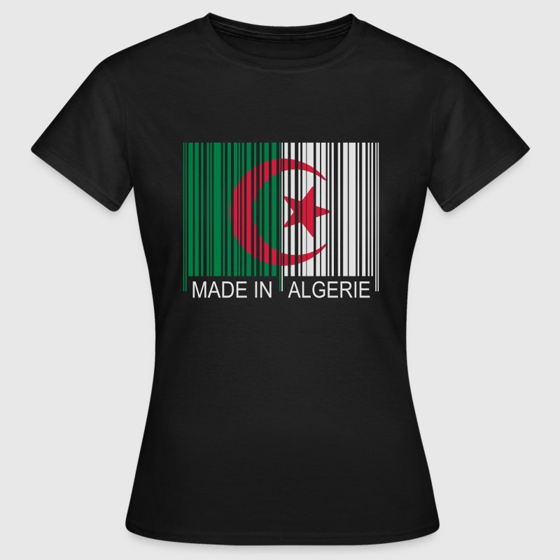 Code barre Made in ALGERIE Tee shirts - T-shirt Femme