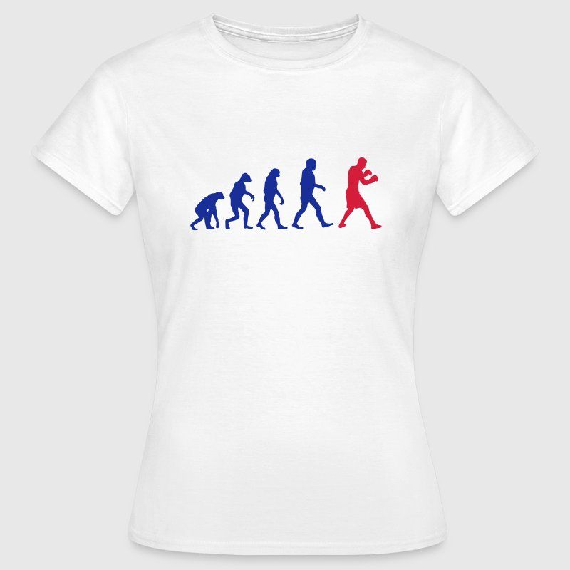 Boxing Evolution logo T-Shirts - Women's T-Shirt
