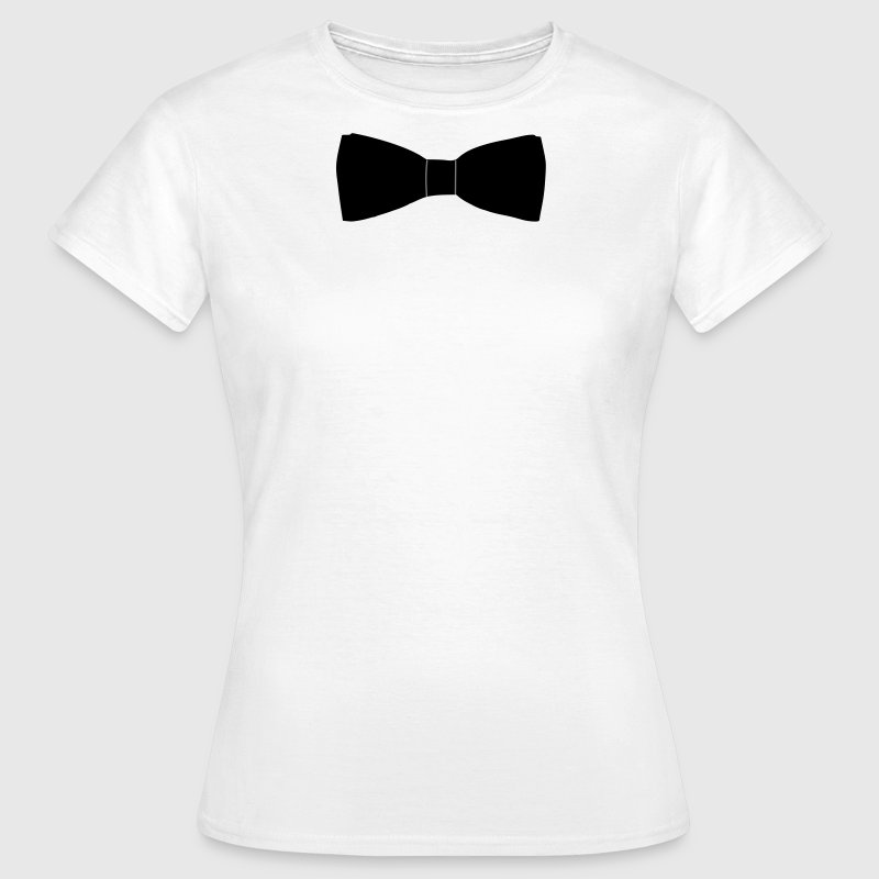 Bow Tie T-Shirts - Women's T-Shirt
