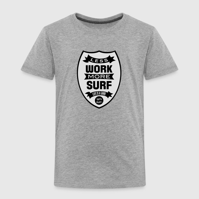 Less work more Surf Tee shirts - T-shirt Premium Enfant