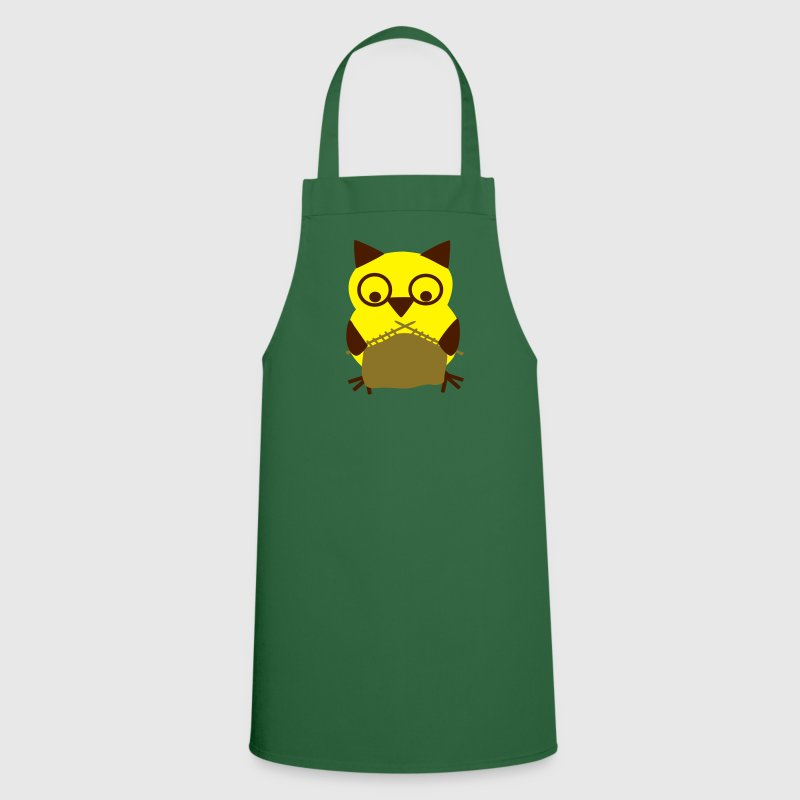 owl knitting  Aprons - Cooking Apron