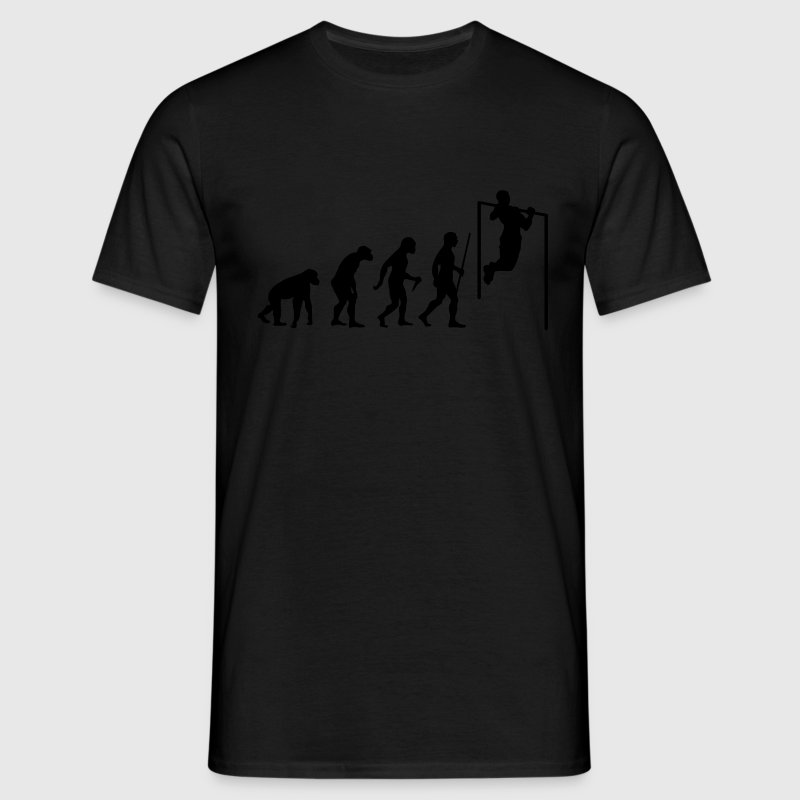 Evolution Pull Up T-Shirts - Men's T-Shirt