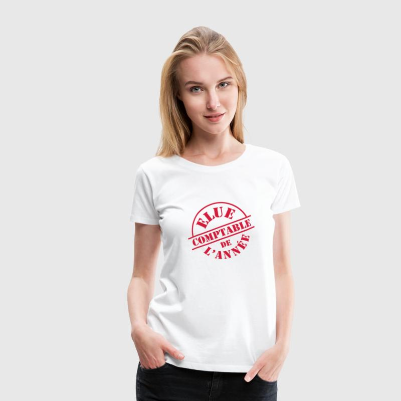 comptable Tee shirts - T-shirt Premium Femme