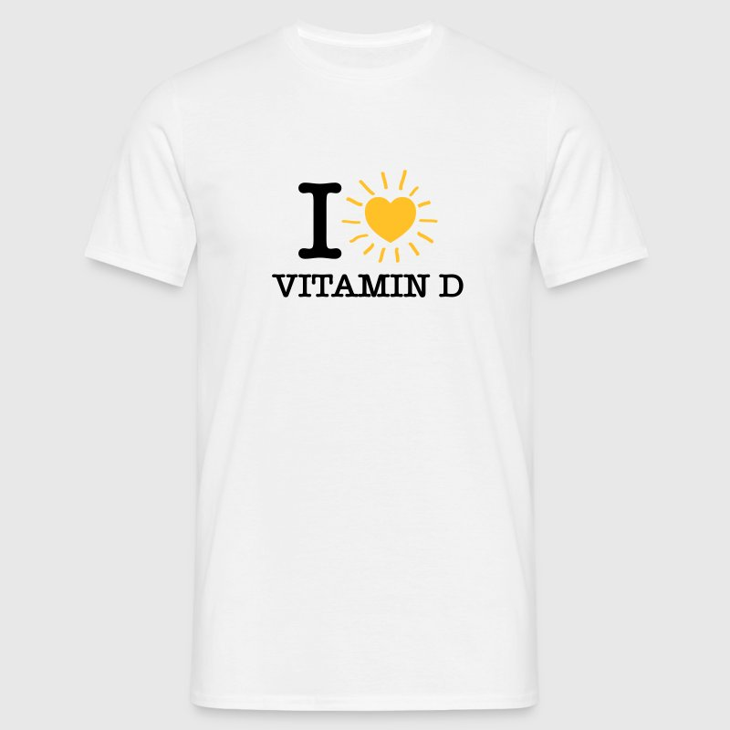 I Love Vitamin D T-Shirts - Men's T-Shirt
