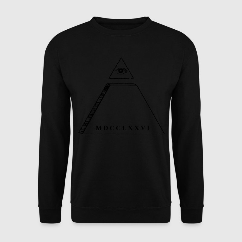 Pyramide - oeil de la Providence Sweat-shirts - Sweat-shirt Homme