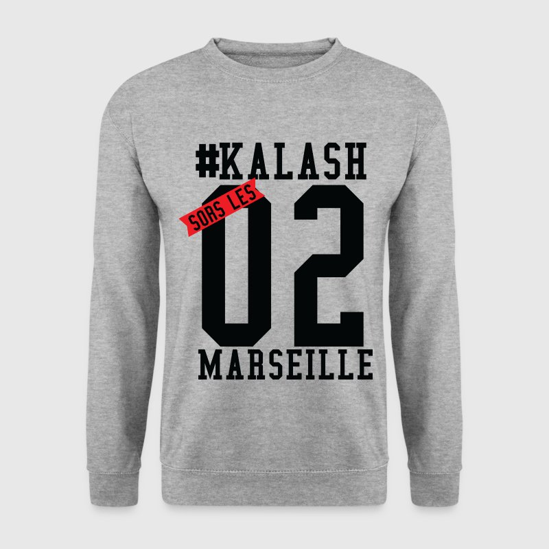 sors les kalash de marseille Sweat-shirts - Sweat-shirt Homme