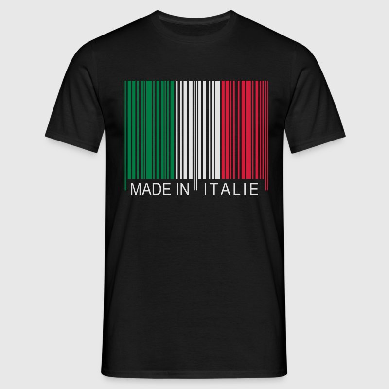 Code barre Made in Italie Tee shirts - T-shirt Homme