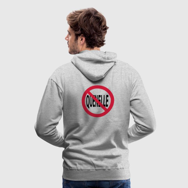 no quenelle Sweat-shirts - Sweat-shirt à capuche Premium pour hommes