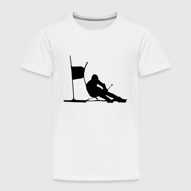skiing - Kids' Premium T-Shirt