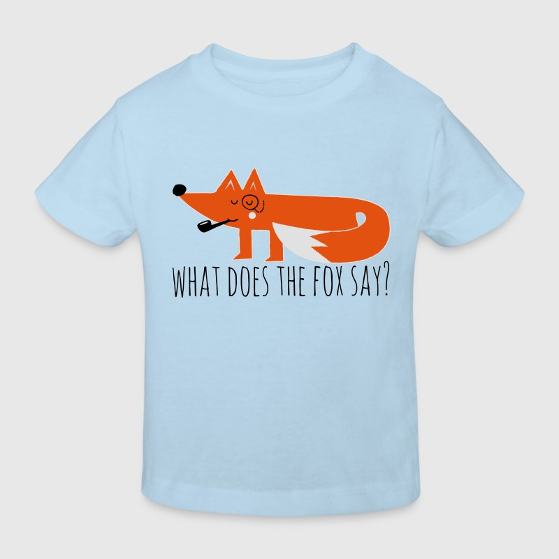 Funny Hipster Swag Trendy comic cartoon Fox Shirts - Kids' Organic T-shirt