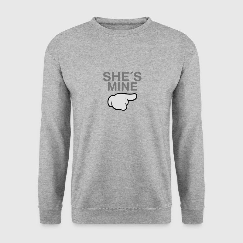 She´s Mine (Comic Hand) Sweatshirts - Herre sweater