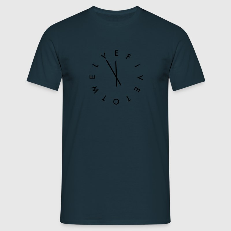 5 to 12 Global Mean Time T-Shirts - Männer T-Shirt