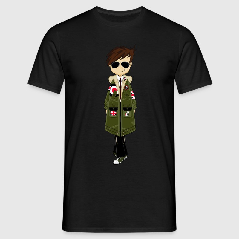 Cool Mod Boy Tee - Men's T-Shirt