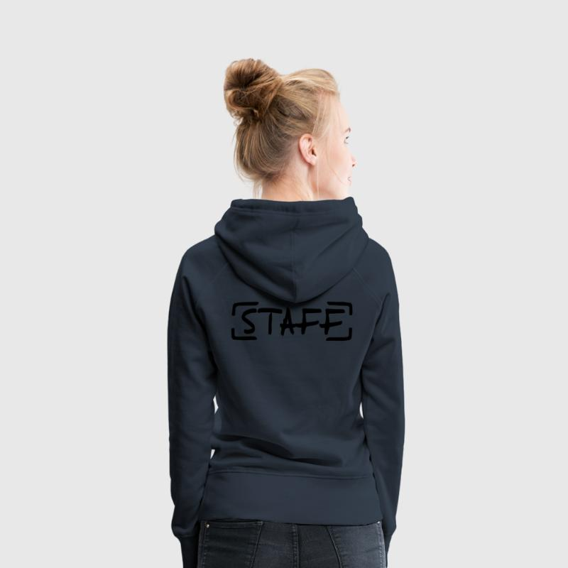 Staff Sweat-shirts - Sweat-shirt à capuche Premium pour femmes