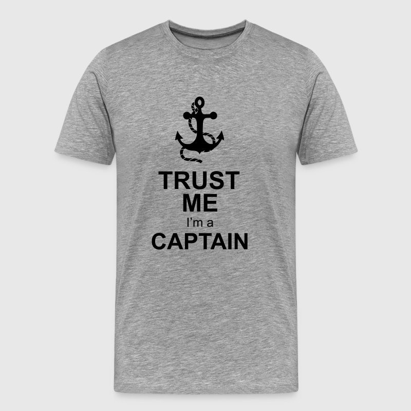 captain anchor T-Shirts - Men's Premium T-Shirt
