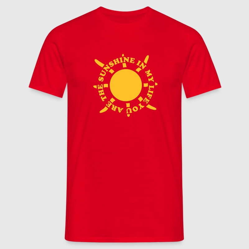 Sunshine in my life 2 T-Shirts - Männer T-Shirt