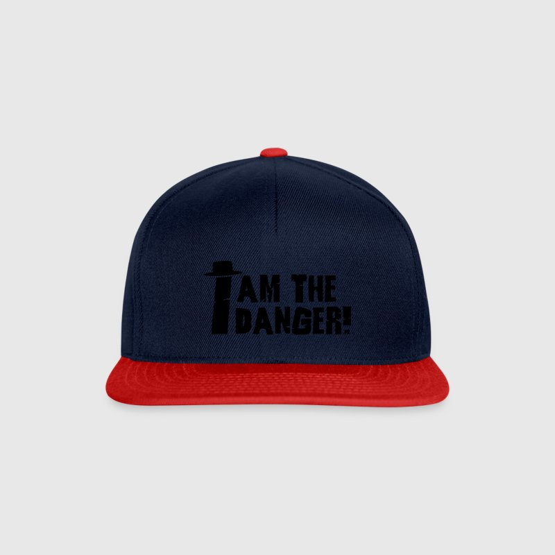 I am the danger with hat Casquettes et bonnets - Casquette snapback