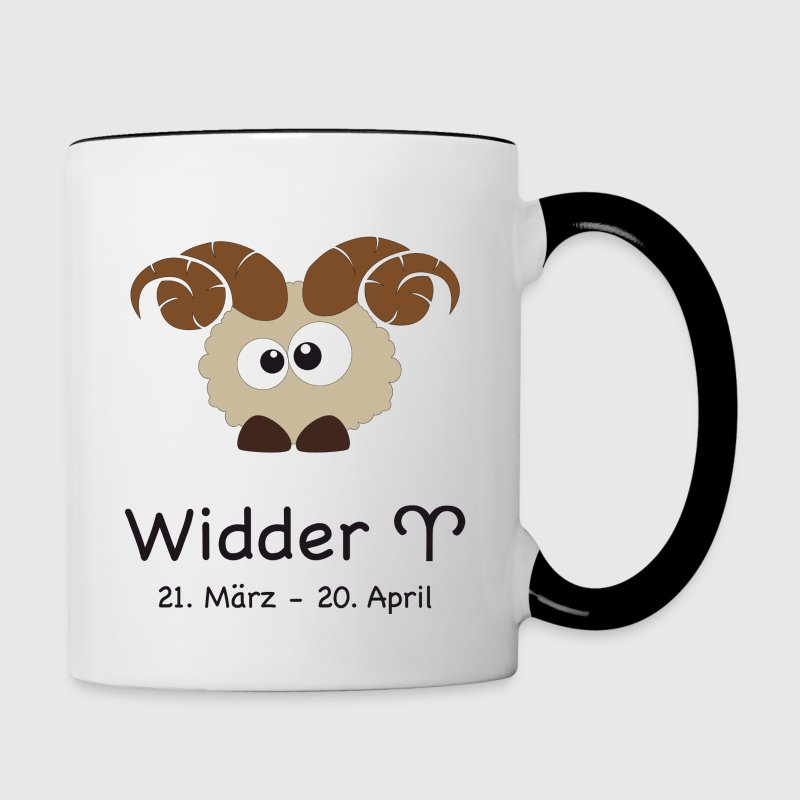 sternzeichen widder tasse spreadshirt. Black Bedroom Furniture Sets. Home Design Ideas