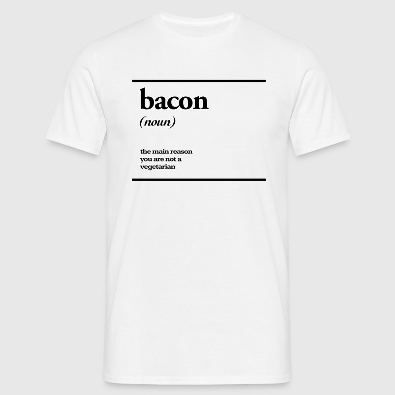 bacon T-Shirts - Men's T-Shirt