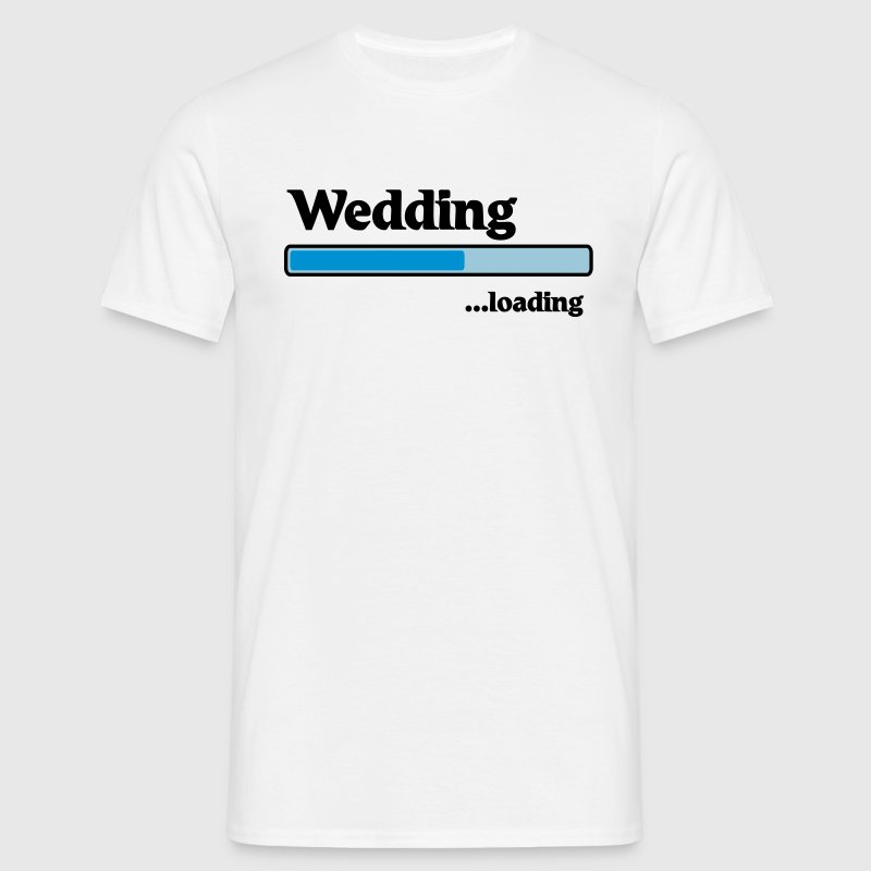Wedding loading T-Shirts - Männer T-Shirt