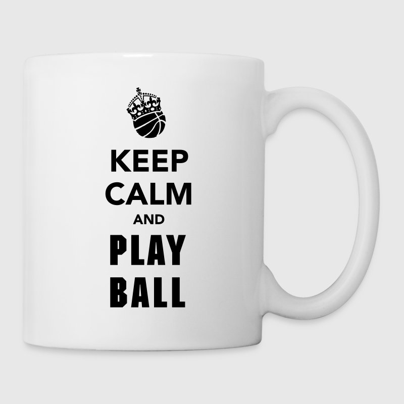 Keep Calm and Play Basketball  Flaschen & Tassen - Tasse