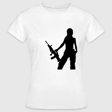 cadeaux femme dangereuse commander en ligne spreadshirt. Black Bedroom Furniture Sets. Home Design Ideas