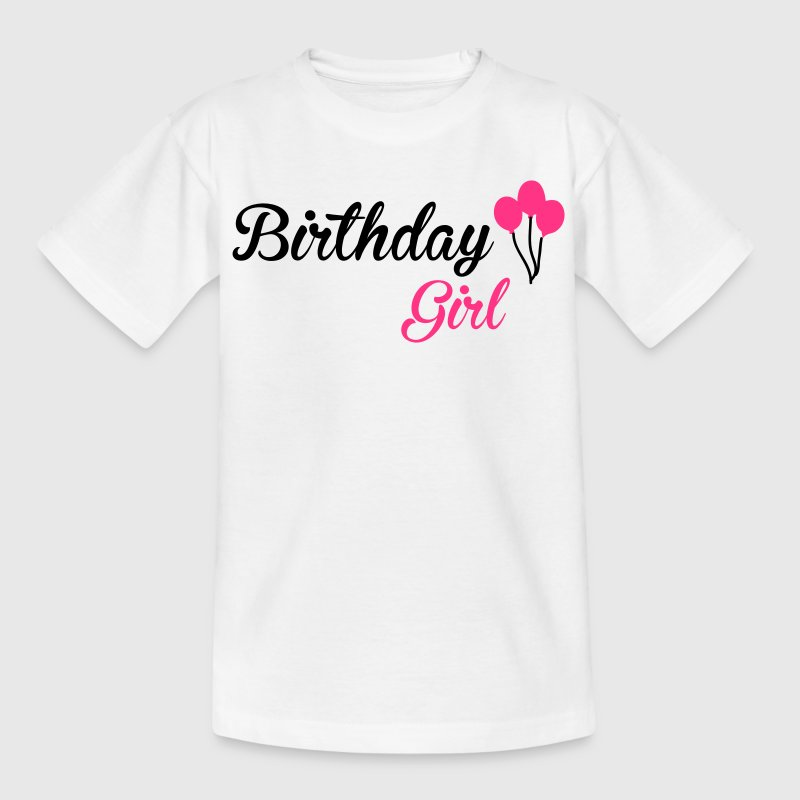 Birthday Girl T-Shirts - Teenager T-Shirt