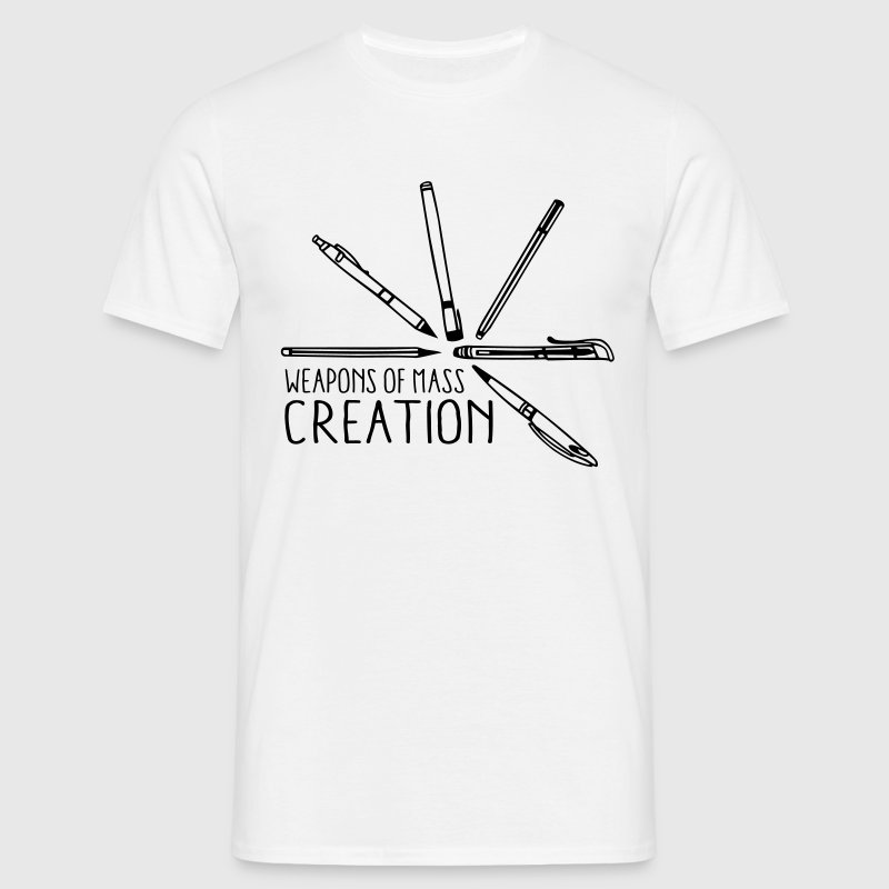 Weapons of mass creation 3 (1c) T-Shirts - Men's T-Shirt