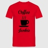 Coffee Junkie T-Shirts - Men's T-Shirt