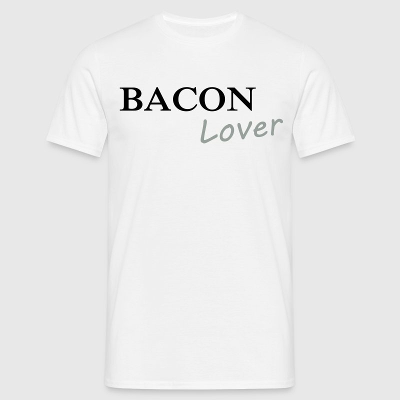 Bacon Lover T-shirts - Herre-T-shirt