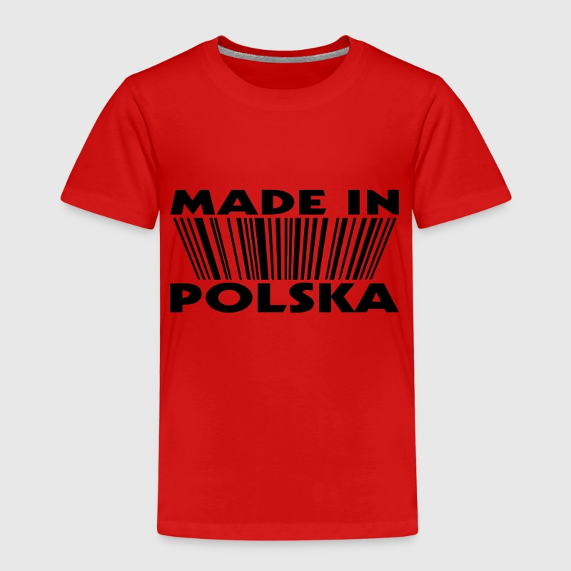 Made in polska 3D code Shirts - Kids' Premium T-Shirt
