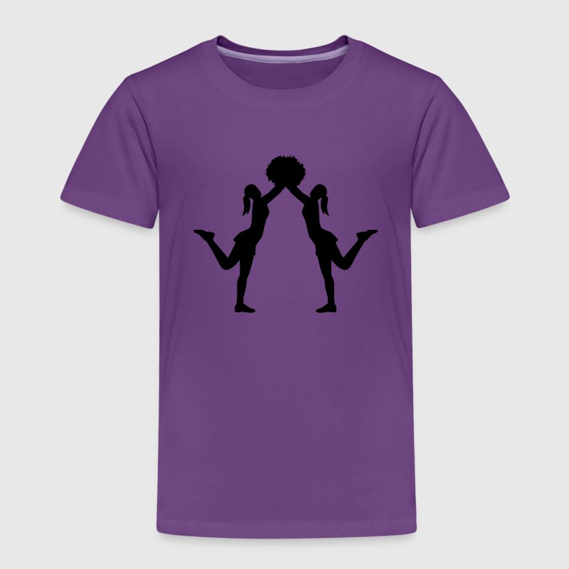 Cheerleader T-Shirts - Kinder Premium T-Shirt