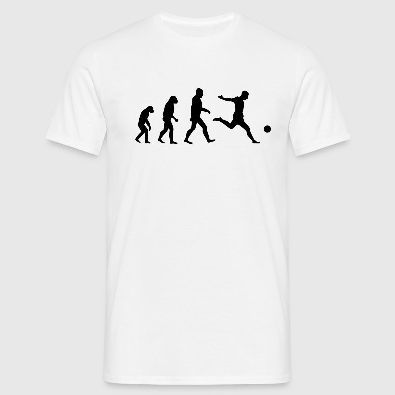 Soccer Evolution T-Shirts - Men's T-Shirt