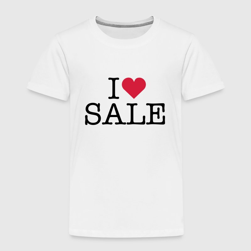 i love shopping sale sales shop fashion clothes Shirts - Kids' Premium T-Shirt
