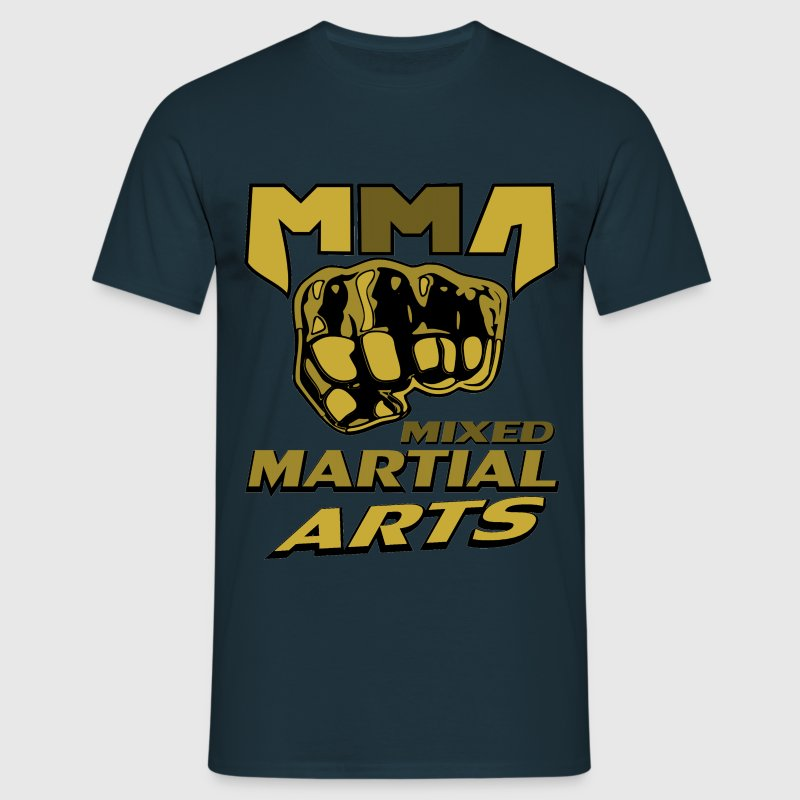 Poing free fight MMA Mixed Martial Arts - T-shirt Homme