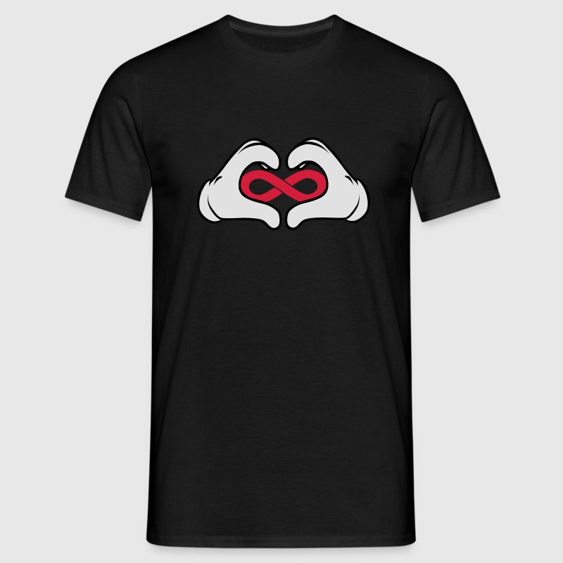 Comic Hand Love Forever (Symbol) Tee shirts - T-shirt Homme