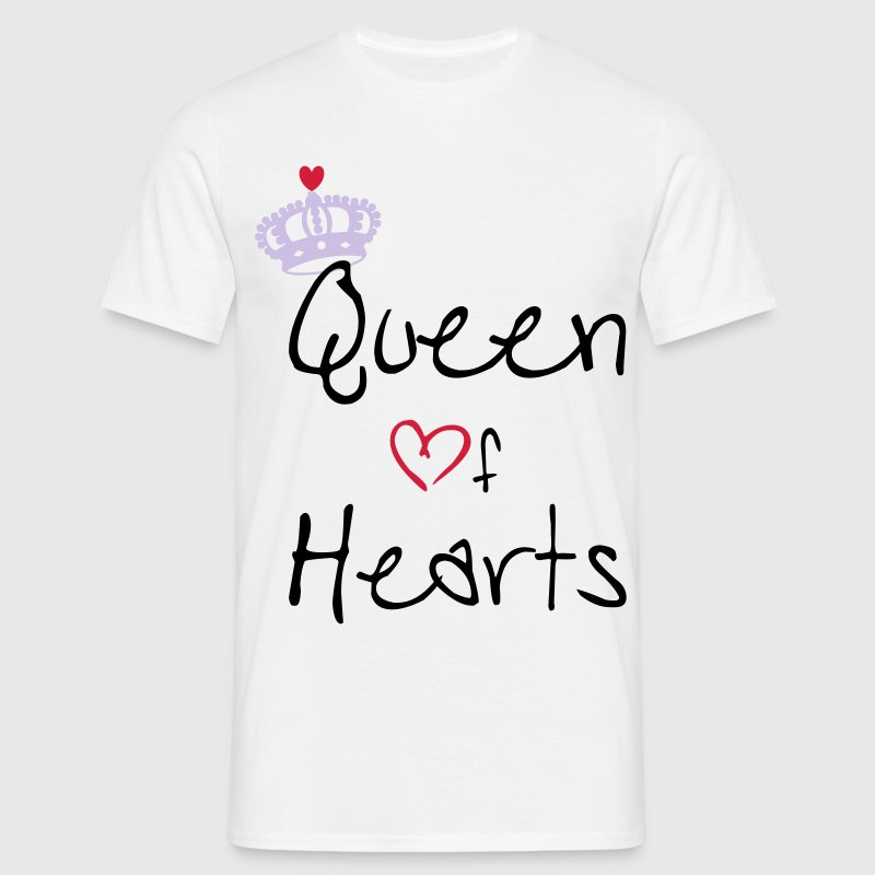 Queen Of Hearts T-Shirts - Men's T-Shirt