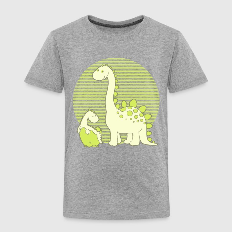 Dinosaur Mom with Hatching Egg Shirts - Kids' Premium T-Shirt