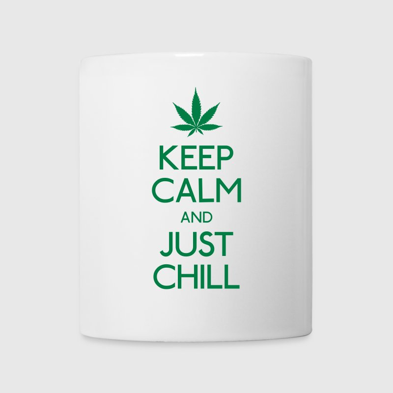 Keep Calm and just chill Flaschen & Tassen - Tasse