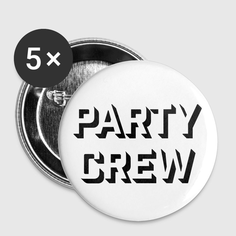 party crew musik Buttons & Anstecker - Buttons mittel 32 mm