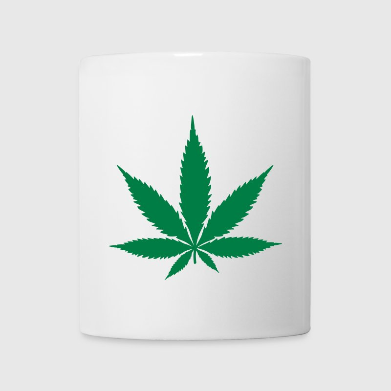 hemp leaf hampa blad Flaskor & muggar - Mugg