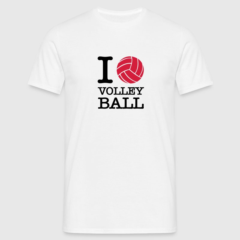 I Love Volleyball Tee shirts - T-shirt Homme