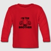i am the big brother Long Sleeve Shirts - Baby Long Sleeve T-Shirt