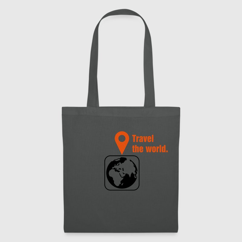 Travel the world Tassen & rugzakken - Tas van stof